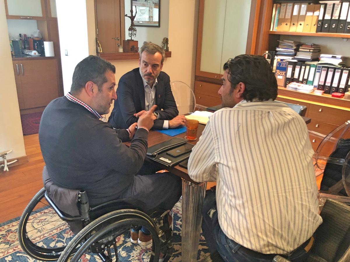 Ζέρβας: Η Θεσσαλονίκη δεν είναι φιλική πόλη για τους ανθρώπους με ειδικές ανάγκες