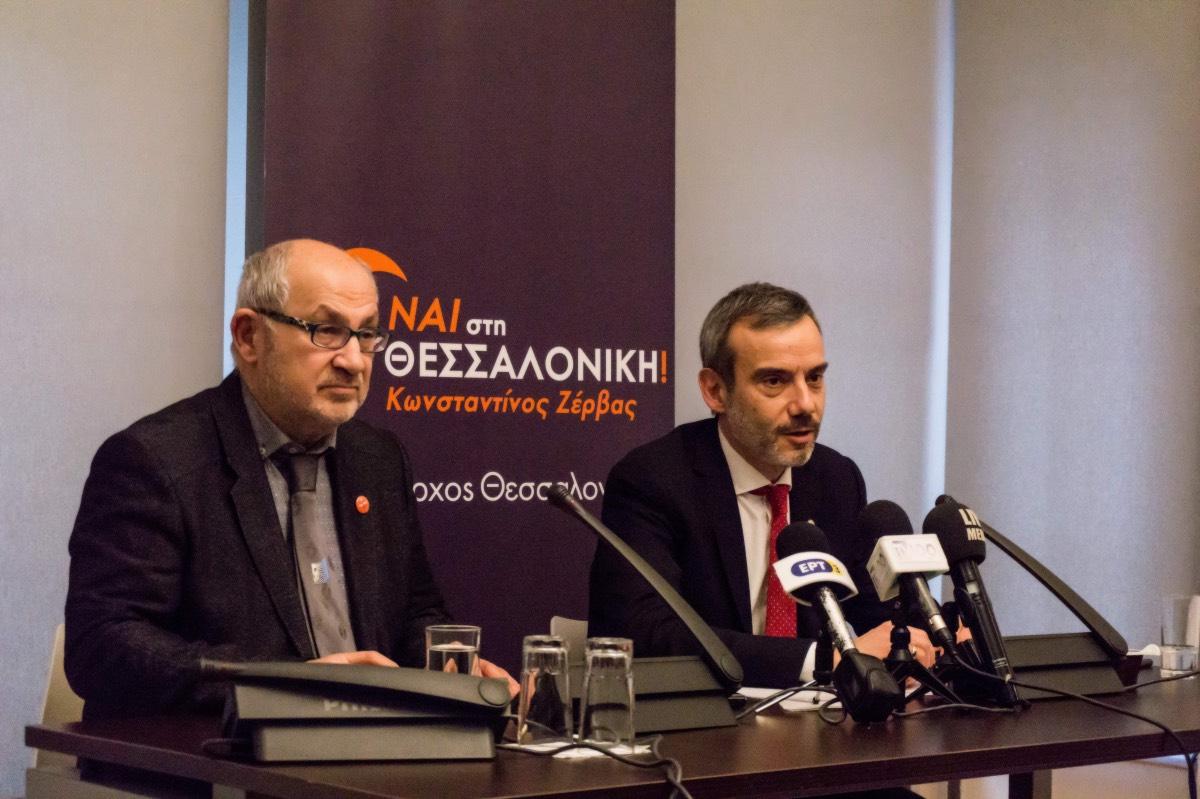 Κ. Ζέρβας: Αναλαμβάνουμε τη διοίκηση του δήμου το Σεπτέμβριο και μέχρι τα Χριστούγεννα η πόλη θα έχει αλλάξει εικόνα
