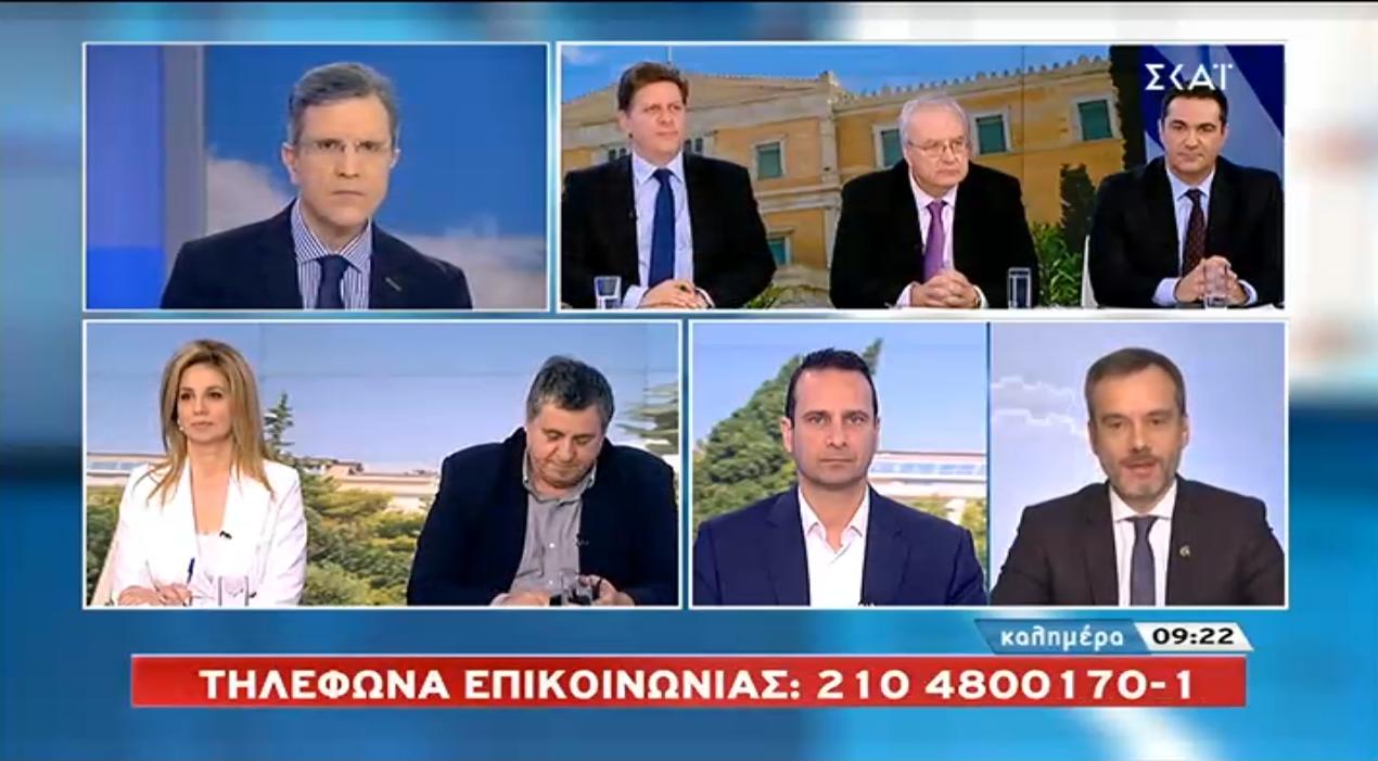 Συνέντευξη στον ΣΚΑΙ για τα Μακεδονικά προϊόντα