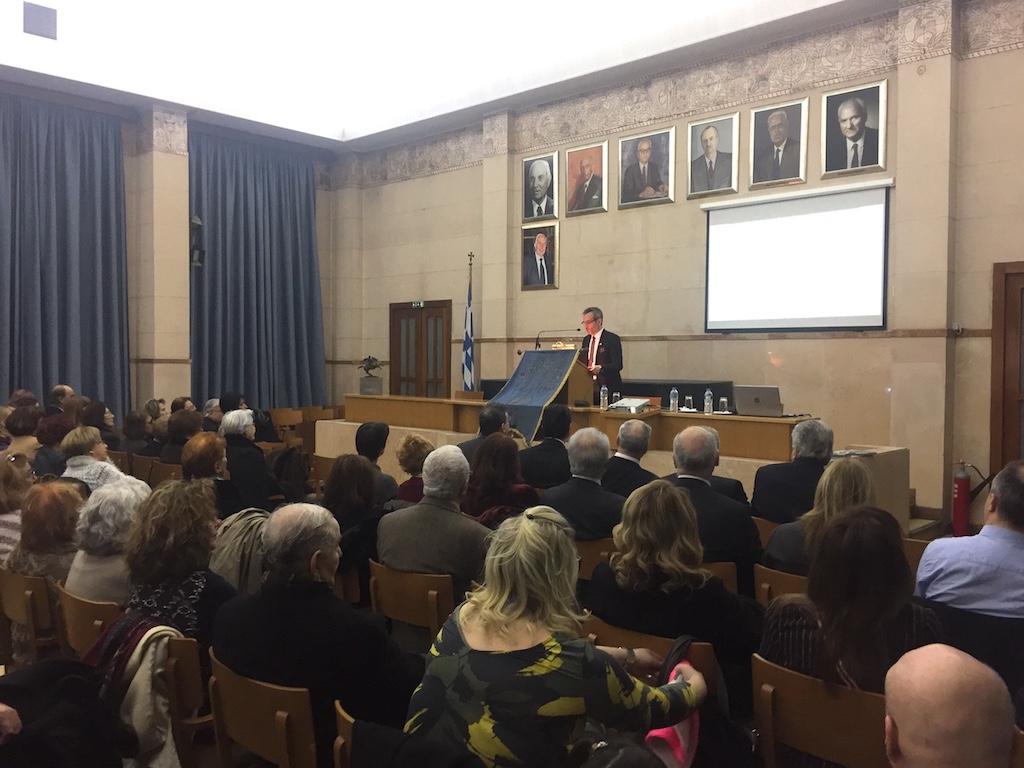 Ομιλία για τον Δ. Λάλλα στην έτησια Γιορτή της Ορθοδοξίας του Συνδέσμου Μοναστηριωτών Η Καρτερία