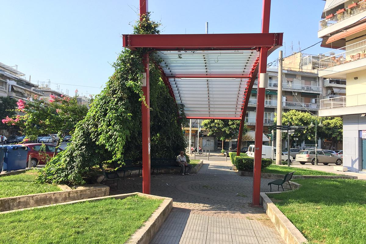 «Πάρκο Πράσινης Καινοτομίας» στη συμβολή των οδών Κ. Καραμανλή και 25ης Μαρτίου