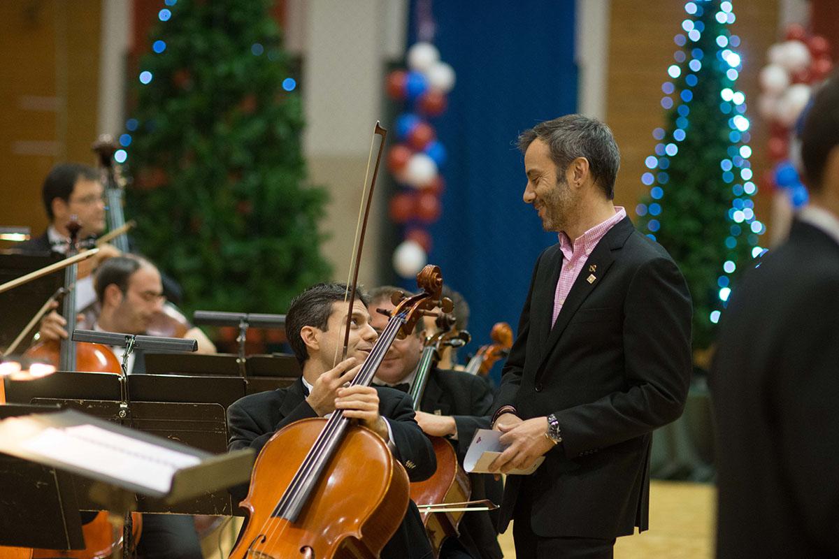 Χριστουγεννιάτικη συναυλία της ΚΟΘ στη ΧΑΝΘ για τους σκοπούς της Αδελφότητας